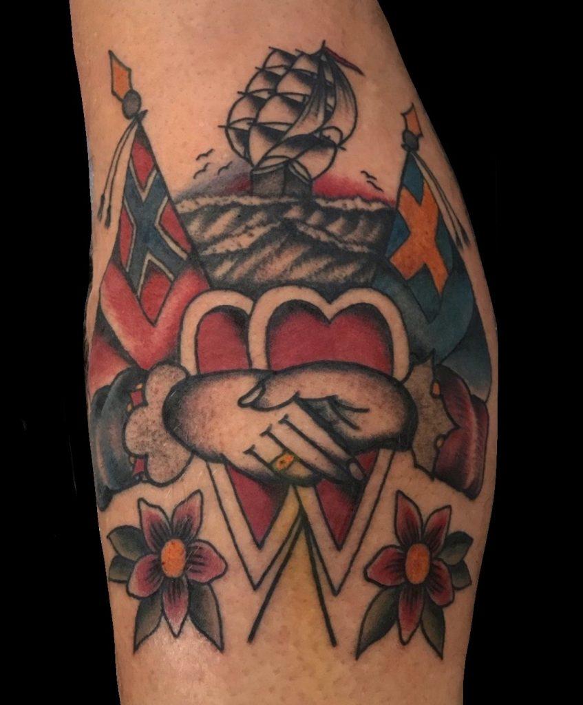 tatuaggio Classic Traditional Europeo